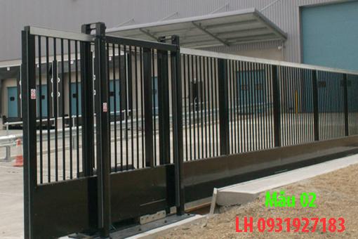 thi công lắp đặt cổng sắt tại Đà Nẵng