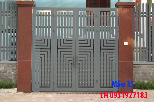 thi công cổng sắt tại Đà Nẵng