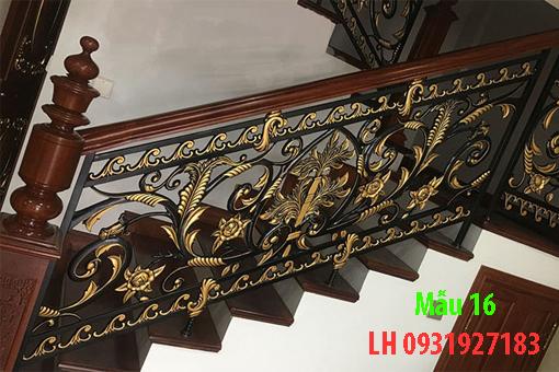 Lan can cầu thang bằng sắt đúc đẹp nhất Đà Nẵng