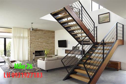 Lan can cầu thang bằng sắt  đẹp nhất Đà Nẵng