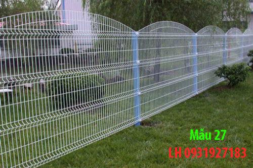 Các mẫu hàng rào đã thi công tại Đà Nẵng