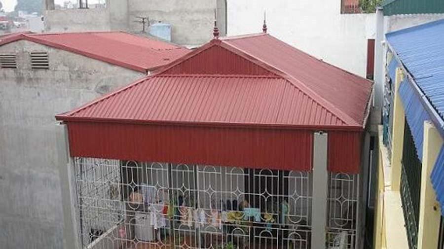 Thi công mái tôn tại Đà Nẵng
