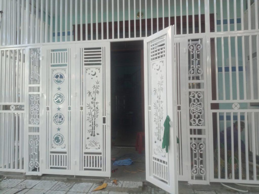mẫu cổng sắt cnc đẹp tại Đà Nẵng