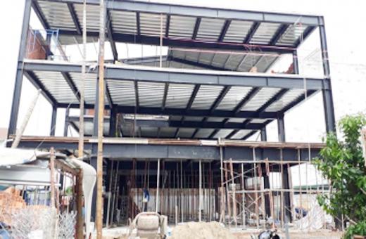 Thi công lắp dựng nhà tiền chế tại Đà Nẵng 9