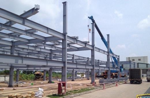 Thi công lắp dựng nhà tiền chế tại Đà Nẵng 5