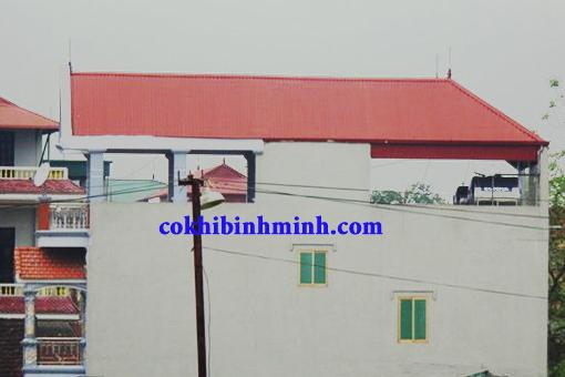 Thi công tôn giả ngói tại Đà Nẵng